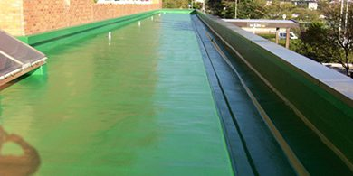 幸田町庁舎 防水工事